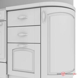 Кухня 3d-моделирование