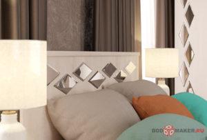 Мебель для спальни 3d-визуализация