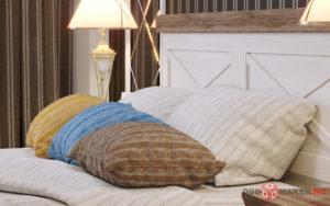 Интерьер спальни визуализация