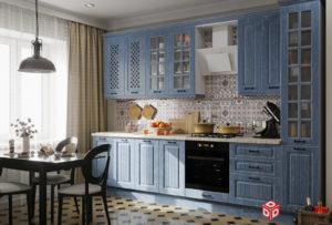 Кухонный гарнитур 3d рендер